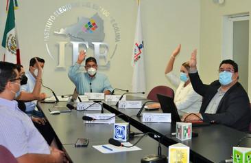 IEE Colima declara formalmente clausurado el Proceso Electoral Local 2020-2021