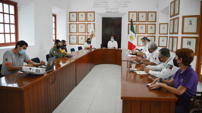 Municipio de Colima preparado con Plan de Contingencia para la Temporada de Ciclones Tropicales 2021