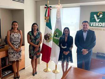 PVEM le lee la cartilla a Virgilio Mendoza, lo alinean con Indira Vizcaíno y Morena