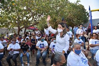 El compromiso que asumo al ser presidenta municipal es volver a las colonias: Margarita Moreno