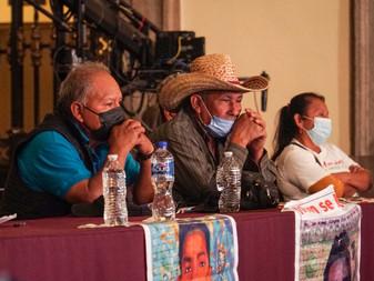 Confirma hallazgos de restos de normalistas  de Ayotzinapa obtenidos en Barranca de la Carnicería