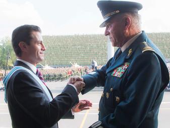 Regresa a México el General Salvador Cienfuegos