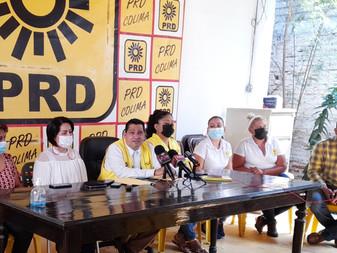 Reconoce PRD triunfo de Indira Vizcaíno Silva