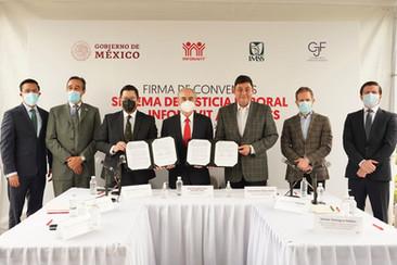 Firman IMSS y Consejo de la Judicatura Federal convenio para el Sistema de Justicia Laboral