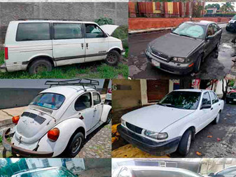 Recuperan 8 vehículos con reporte de robo