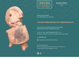 Invita Museo Regional de Historia al taller virtual de elaboración de yelmos prehispánicos