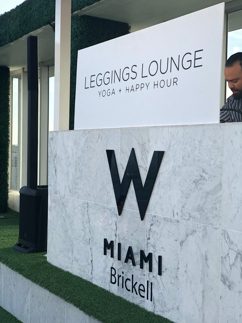 Leggings Lounge Event - Miami, FL