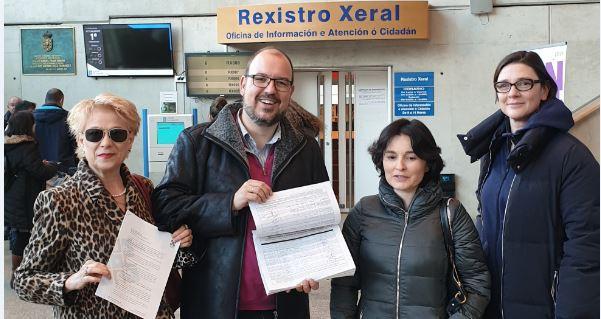 Lugo Monumental recogió más de 2.000 firmas contra el traslado de la Estación de Autobuses