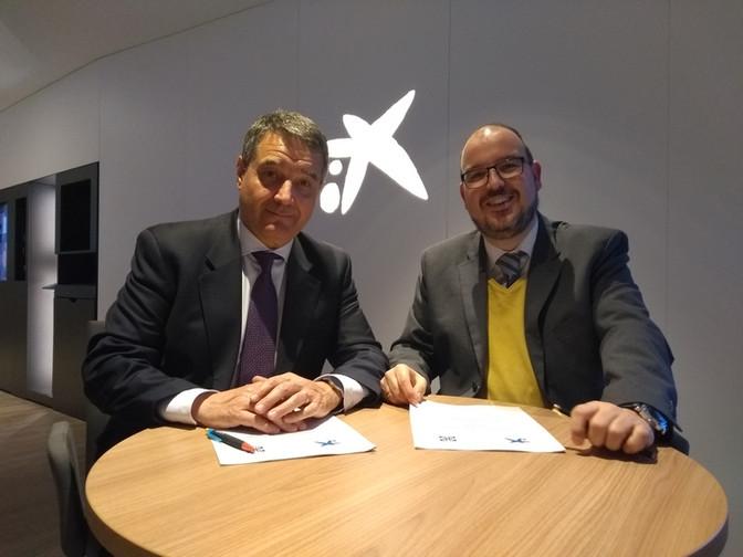 Lugo Monumental firma un convenio con CaixaBank