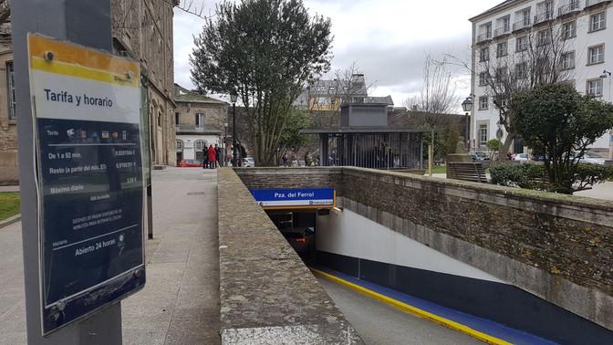 Lugo Monumental solicita al Ayuntamiento la gratuidad de los aparcamientos municipales de Santo Domi