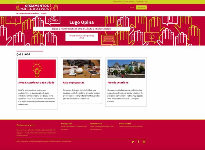 Lugo Monumental presenta 28 proyectos e iniciativas para los Presupuestos Participativos