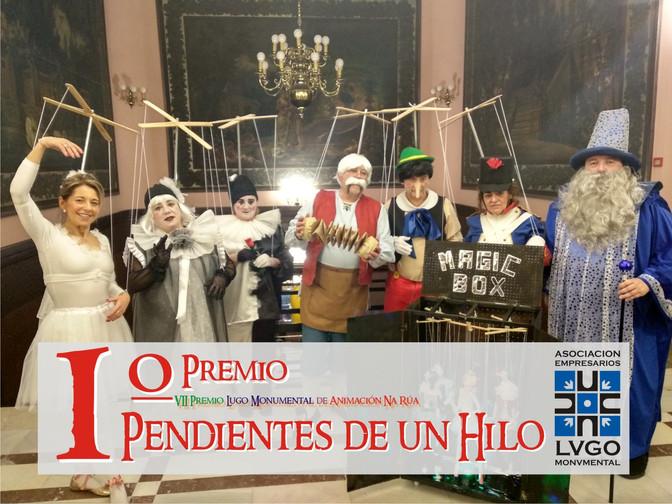 Lugo Monumental entrega los premios del VII Concurso de Animación Callejera de Carnaval