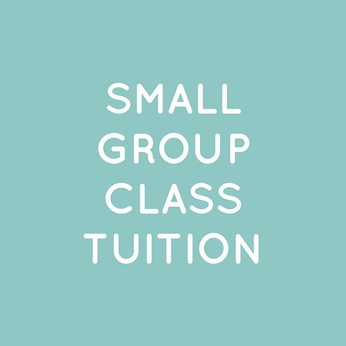 2020 Finalize Small Group Class Tuition