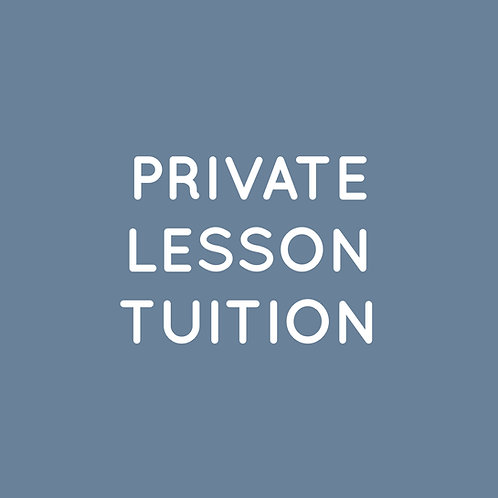 2020 Finalize Private Lesson Tuition