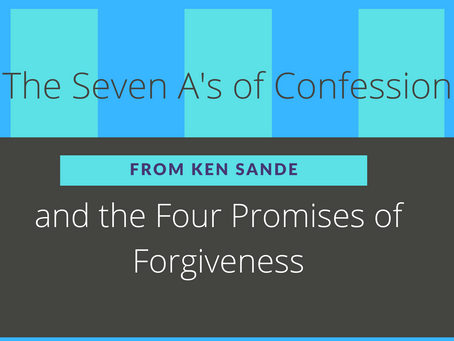 A Guide to Confession and Forgiveness