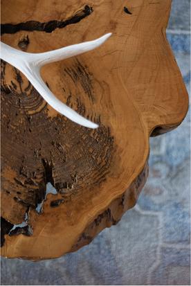 Handmade Coffee Table Detail