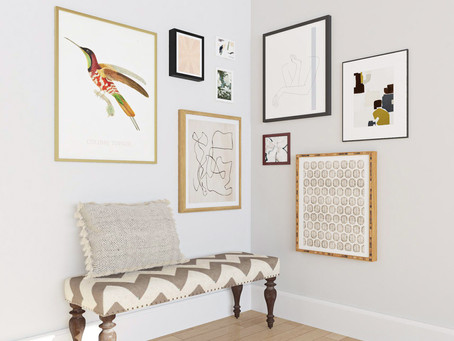 GALLERY WALLS // How to create a gallery wall that works (and doesn't give you a headache)