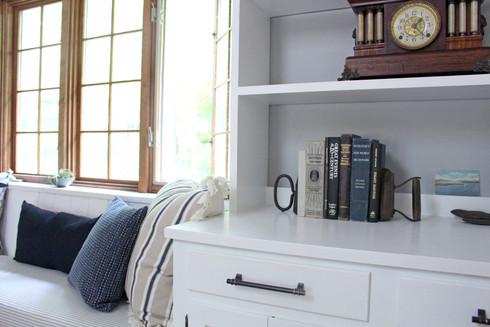 VT HOUSE / Family Room Detail