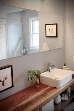 Madison Bathroom / Custom vanity