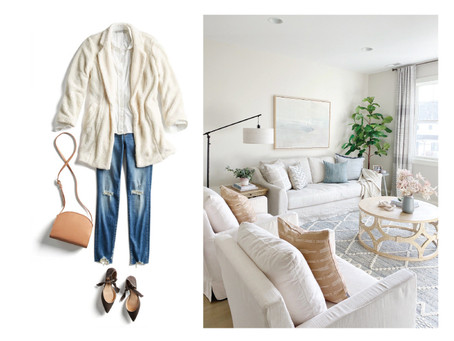 A FASHIONABLE HOME // How to use your wardrobe to find your interior design style