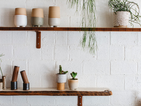SHELFIES // How to style shelves, mantels, coffee tables, and other surfaces.