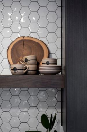 Kitchen Shelf Detail