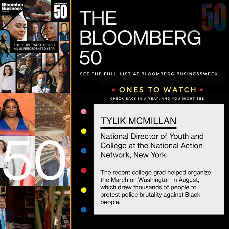 Tylik McMillan: Bloomberg Ones to Watch