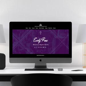 Early Rose Baptist Church Website Design