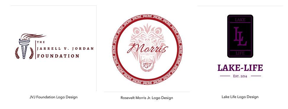 Jarrell V. Jordan Company Logos