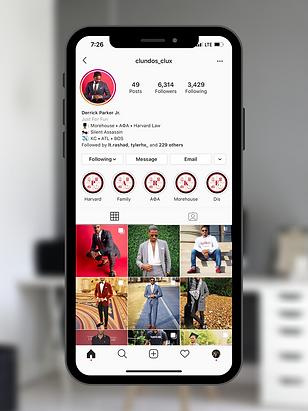 Derrick Parker Instagram Design