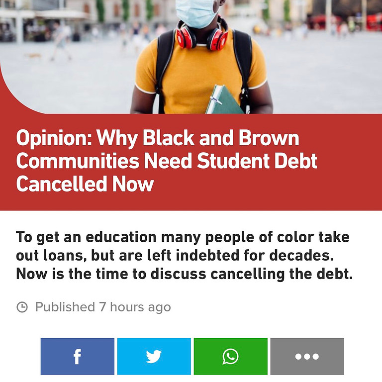 Tylik McMillan: Writes a Article for BET on Student Debt