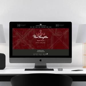 New Hampton Baptist Church Website Design