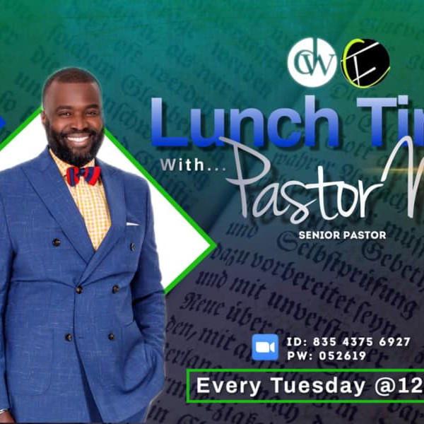 Lunchtime with Pastor Nic