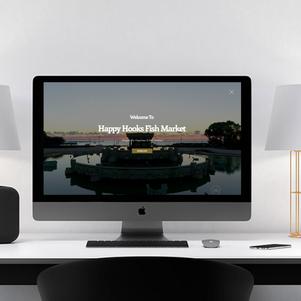 Happy Hooks Restaurant Website Design