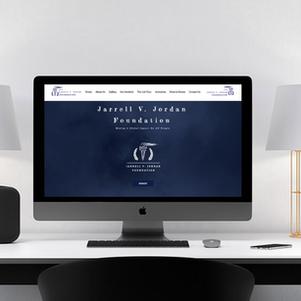 Jarrell V. Jordan Foundation Website Design