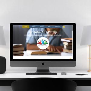 Dr. John Plump Website Design