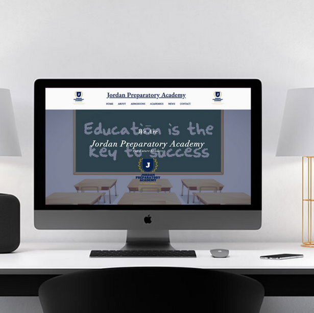 Jordan Preparatory Academy Website Design