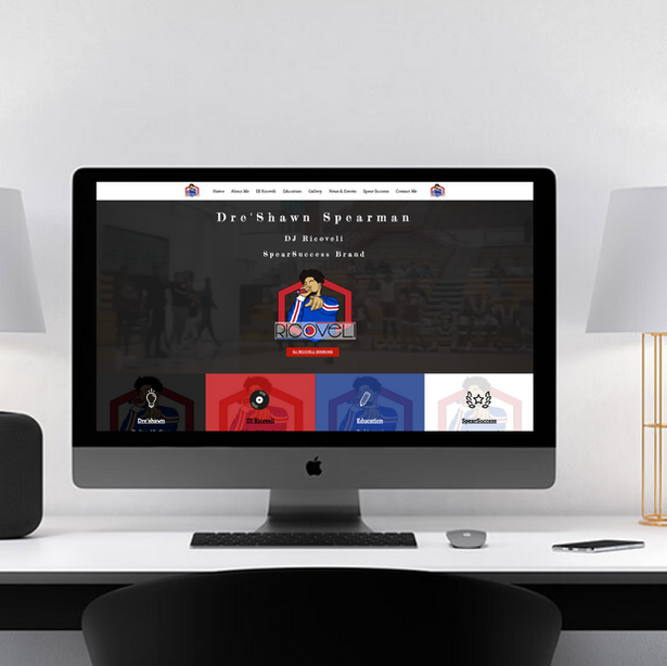 DJ Ricoveli Website Design