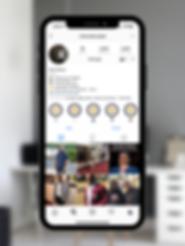 Alexander Cherry Instagram Design