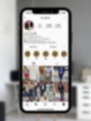 Terrell Carrol Instagram Design