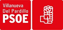 Logo2018VillanuevaDelPardilloPSOE_Rojo.p