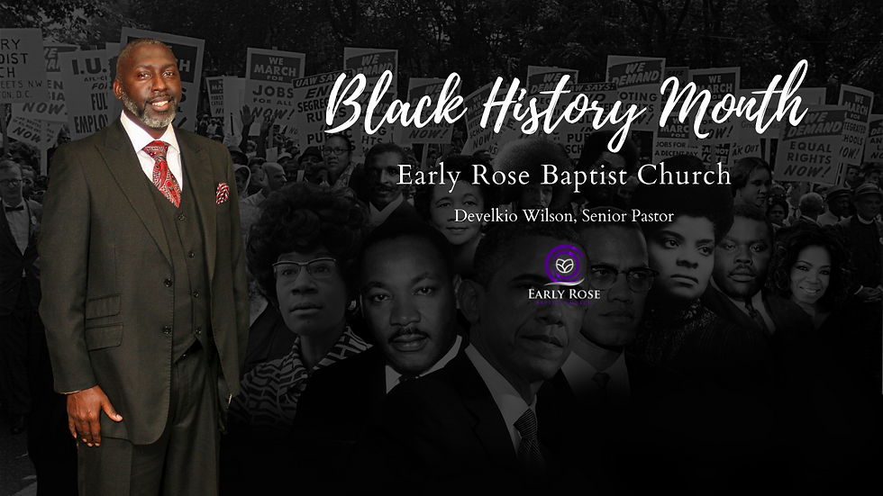 Early Rose Baptist Church Church Banners
