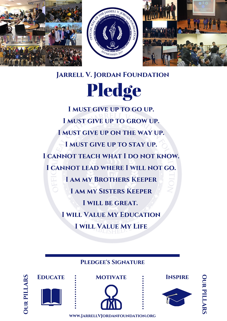 Jarrell V. Jordan Foundation Pledge.png