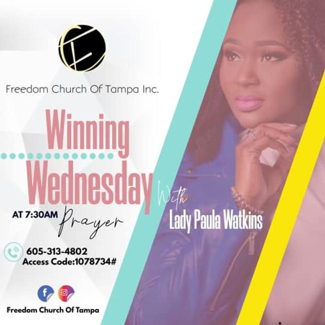 Winning Wednesday with Lady P