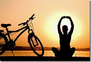 Cycling for sanity, yoga your way to a happier life | A Road Less Traveled