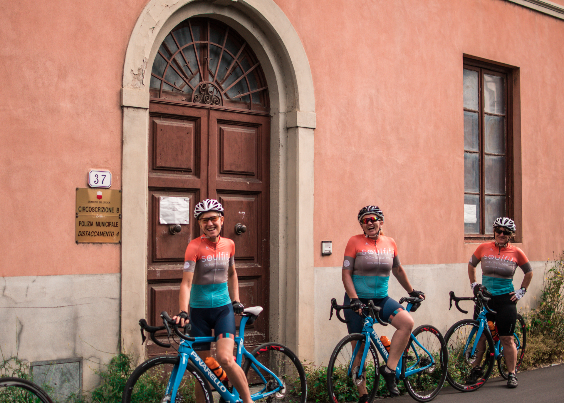 cycling and yoga italy