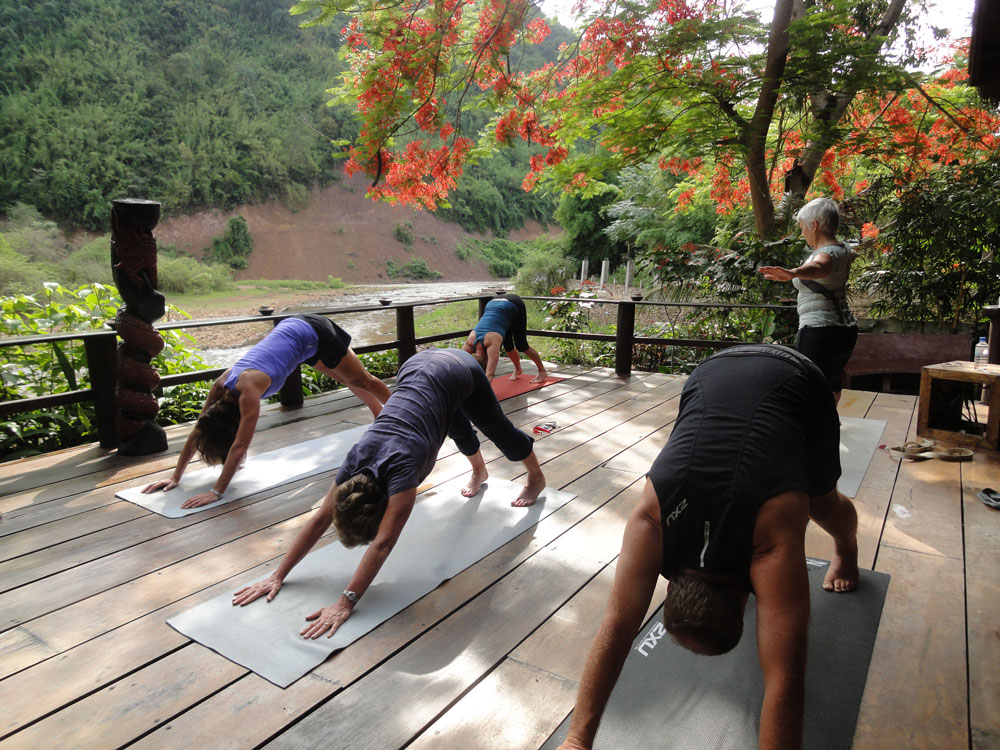 Cycling and Yoga Retreats in Laos