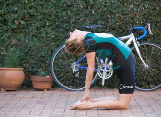 Yoga and Cycling - The two meet