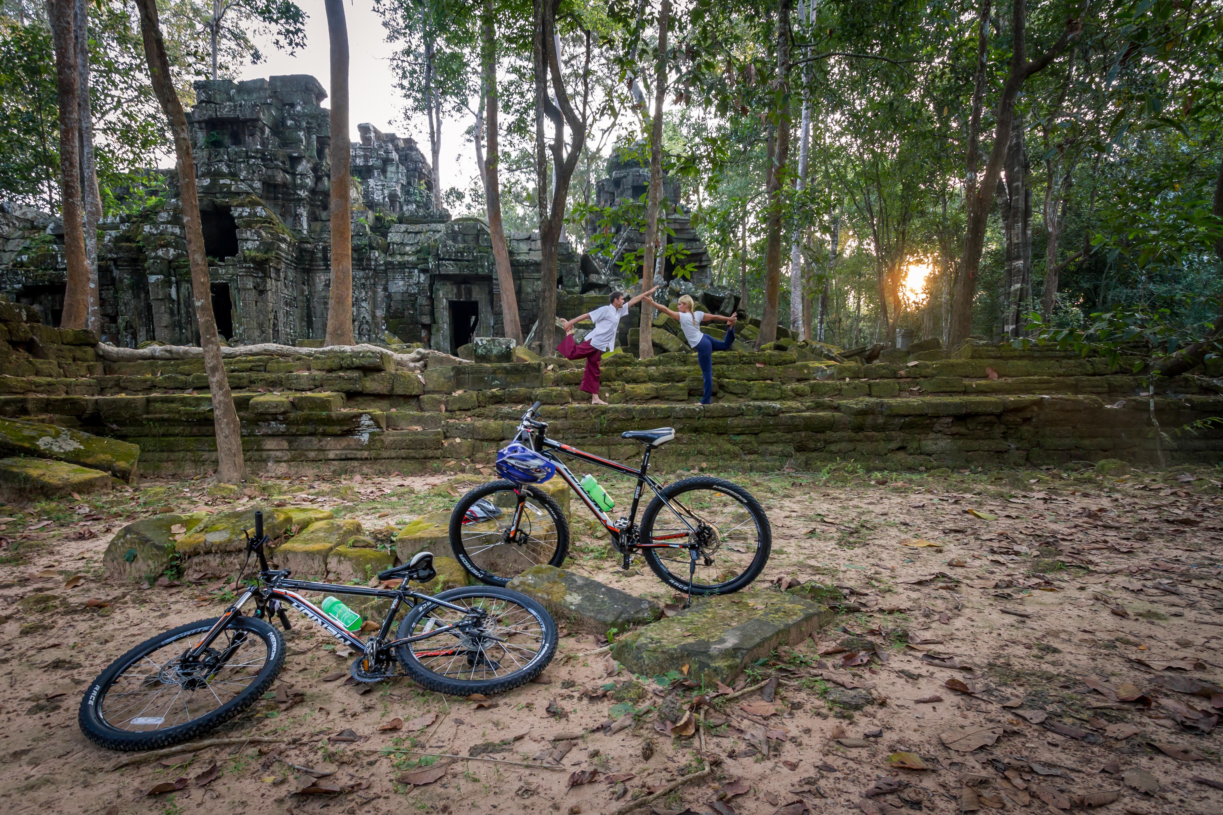 Cycling & Yoga Retreats in Cambodia