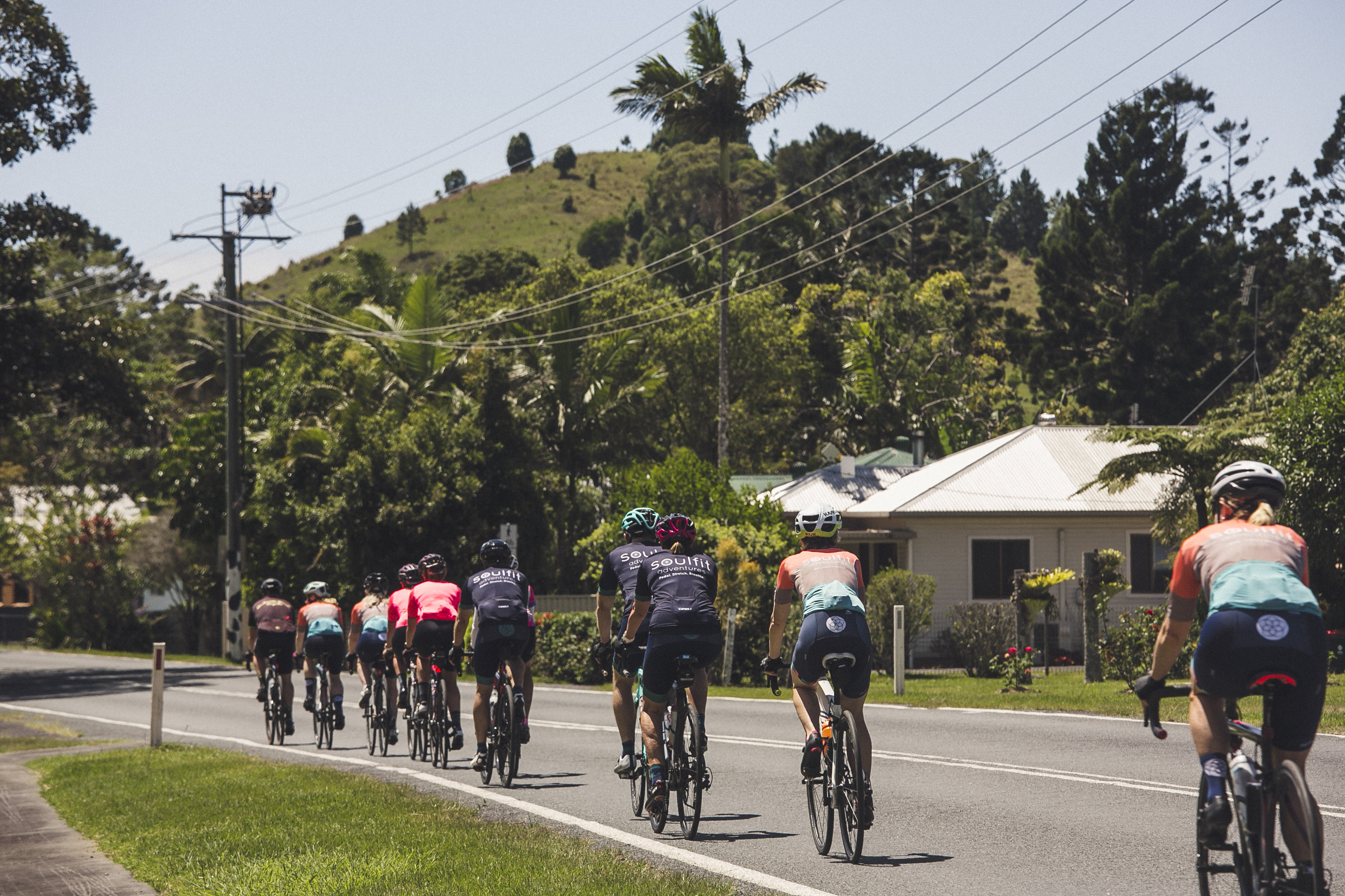Cycling in Byron Bay
